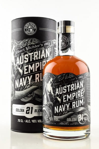 Austrian Empire Navy Rum Solera 21 40%vol. 0,7l