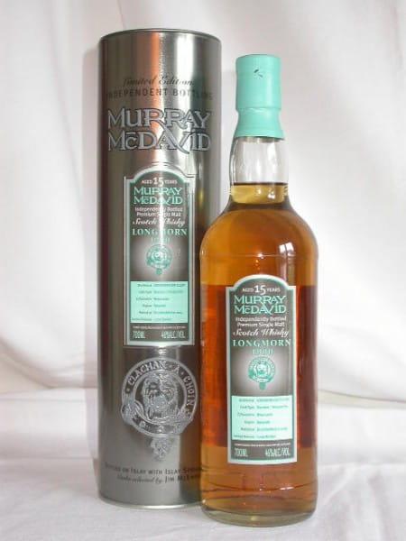 Longmorn 1990/2005 Bourbon/Tempranillo Murray McDavid 46%vol. 0,7l