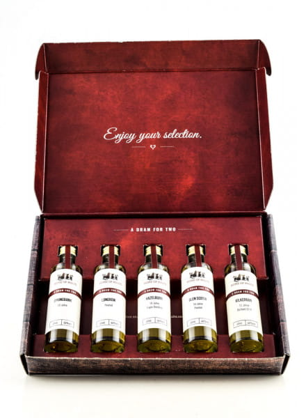Tasting Selection Campeltown Whisky 5 x 0,04l