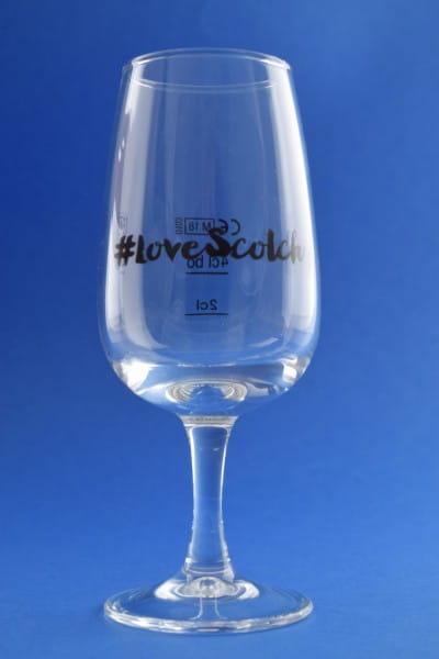 #Love Scotch Nosing-Glas - mit Eichstrichen