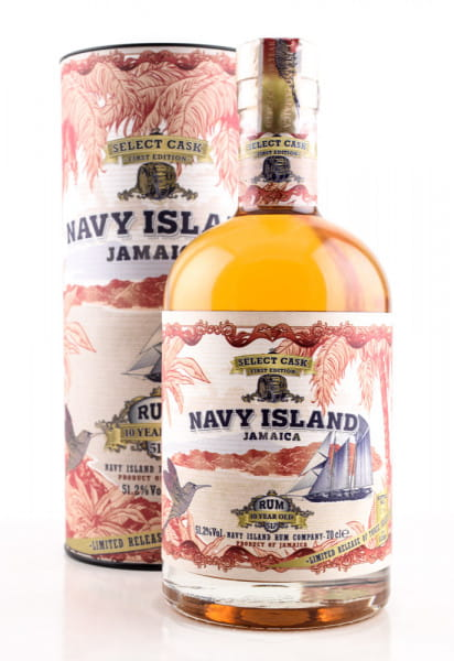 Navy Island 10 Jahre Select Cask First Edition 51,2%vol. 0,7l