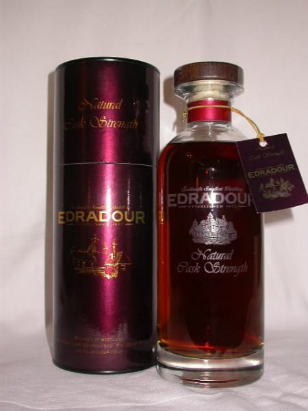 Edradour Natural Cask strength 1994/2007 56,3%vol. 0,7l