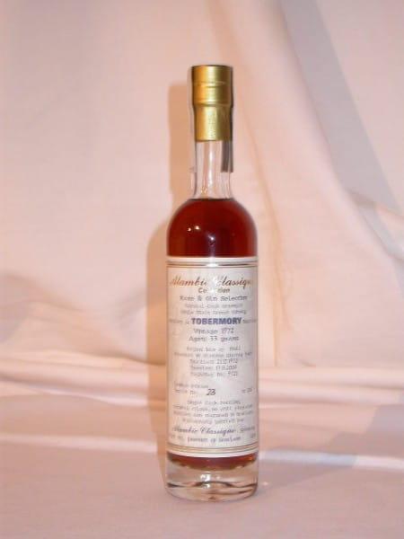 Tobermory 1972/2006 Alambic Classique 49,6%vol. 0,2l