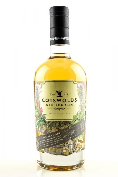 Cotswolds Ginger Gin 46%vol. 0,5l