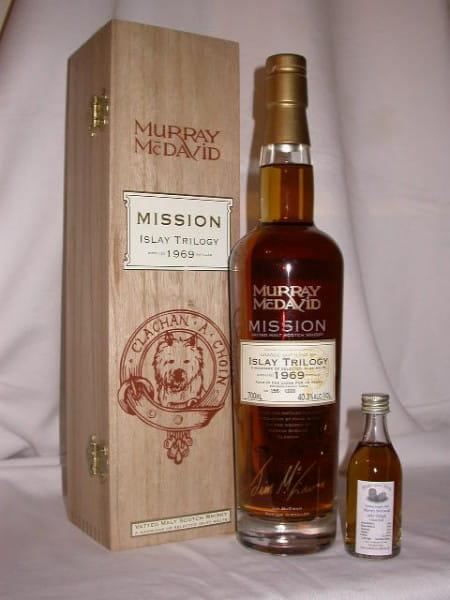 Islay Trilogie 69/06 Murray McDavid Mission C.S. 40,3%vol. Sample 0,05l