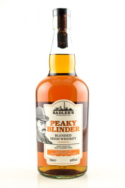 Peaky Blinder Blended Irish Whiskey 40%vol. 0,7l