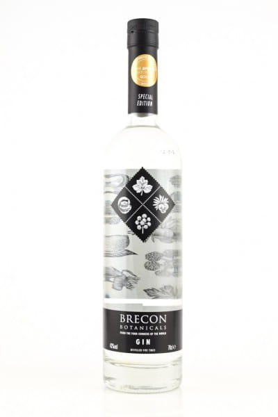 Brecon Botanicals Gin 43%vol. 0,7l
