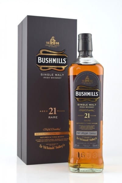 Bushmills 21 Jahre Bottled 2014 40%vol. 0,7l