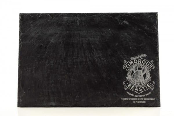 Timorous Beastie - Servierplatte aus Schiefer 30x20cm