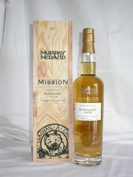 Glenlivet 1974/2002 Murray McDavid Mission I 46%vol. 0,7l
