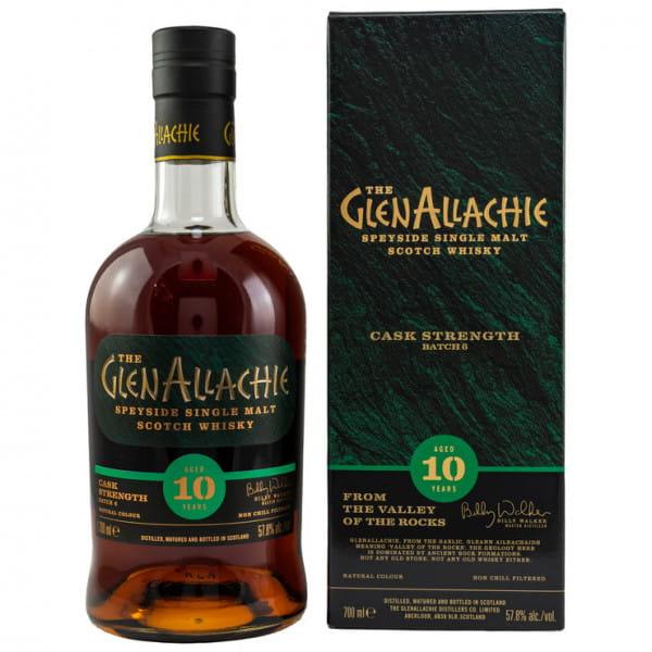 GlenAllachie 10 Jahre Batch #6 57,8%vol. 0,7l