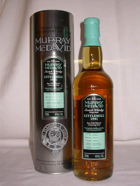 Littlemill 1991/2007 Bourbon Murray McDavid 46%vol. 0,7l