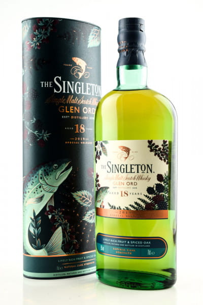 The Singleton of Glen Ord 18 Jahre Special Release 2019 55%vol. 0,7l