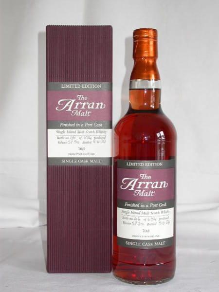 Arran 1997/2004 Port Cask Finish No.4 57,5%vol. 0,7l