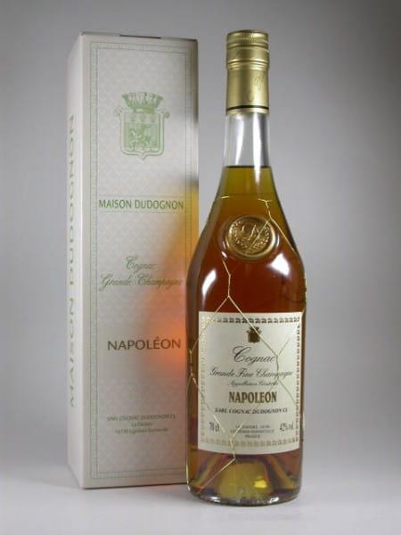 Dudognon NAPOLEON Grande Champagne 42%vol. 0,7l - altes Design