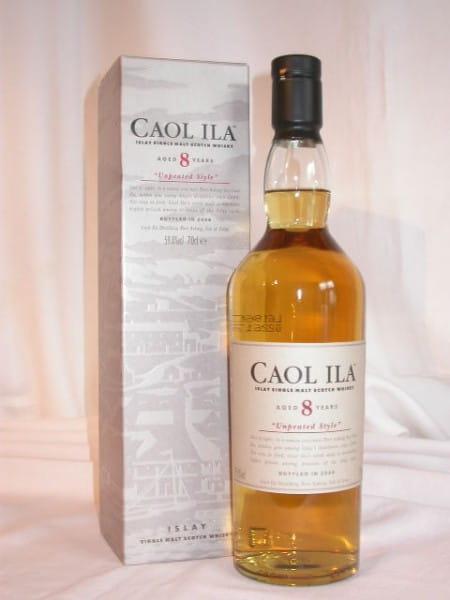 "Caol Ila 8 Jahre ""Unpeated Style"" Btl. 2006 59,8%vol. 0,7l"