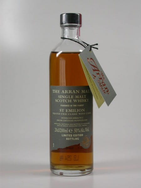 Arran St Emilion Wine Cask 50%vol. 0,2l