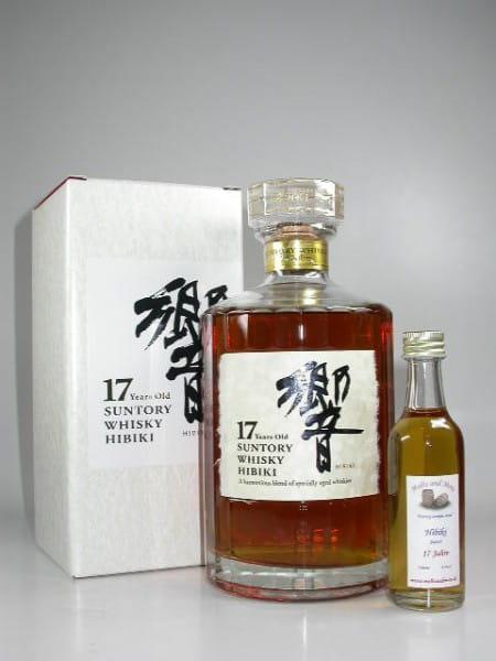 Suntory Hibiki 17 Jahre 43%vol. Sample 0,05l