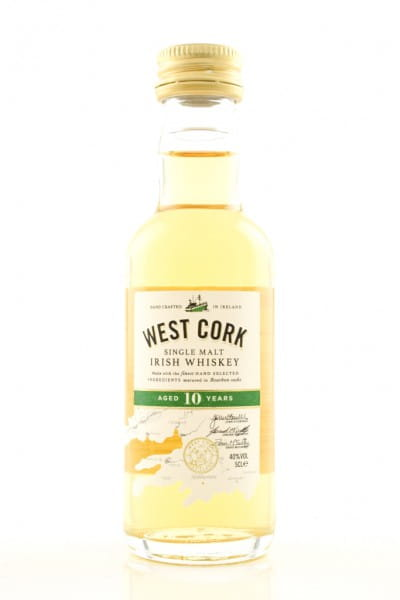 West Cork 10 Jahre 40%vol. 0,05l