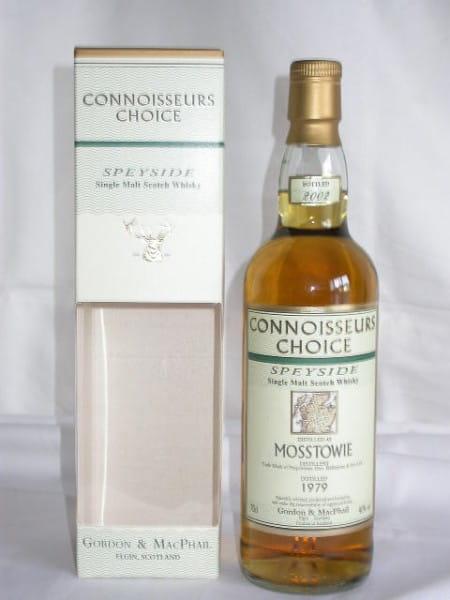 Mosstowie 1979/2002 Gordon & MacPhail Connoisseurs Ch. 40%vol. 0,7l