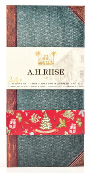 A.H. Riise Adventskalender 24x 0,02l - Buch