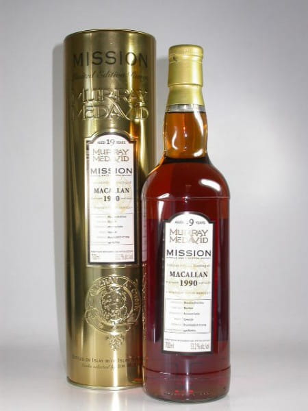 Macallan 1990/2009 Murray McDavid Gold Series 53,2%vol. 0,7l