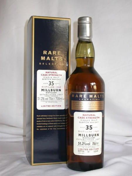 *Millburn 35 Jahre 1969/2005 Rare Malts 51,2%vol. 0,7l