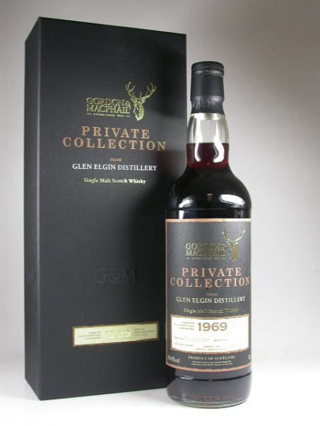 Glen Elgin 1969/2010 Private Collection 1st fill Sherry Gordon & MacPhail 40,4%vol. 0,7l