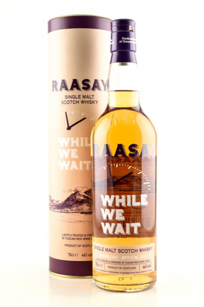 Raasay While we wait 2018 Release 46%vol. 0,7l