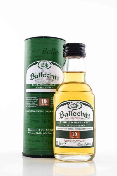 Ballechin 10 Jahre 46%vol. 0,05l