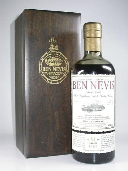 Ben Nevis 41 Jahre 1967/2009 Sherry Cask No. 1281 49,4%vol. 0,7l