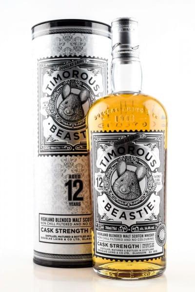 Timorous Beastie 12 Jahre Cask Strength Douglas Laing 54,4%vol. 0,7l