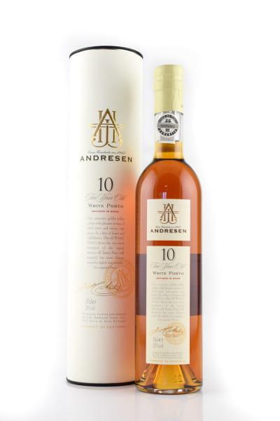 Andresen White Port 10 Jahre 20%vol. 0,5l