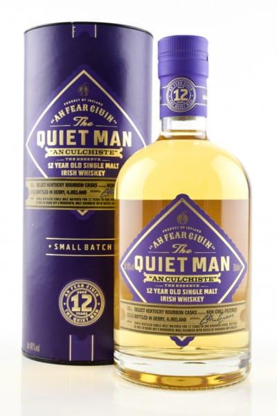The Quiet Man 12 Jahre 46%vol. 0,7l