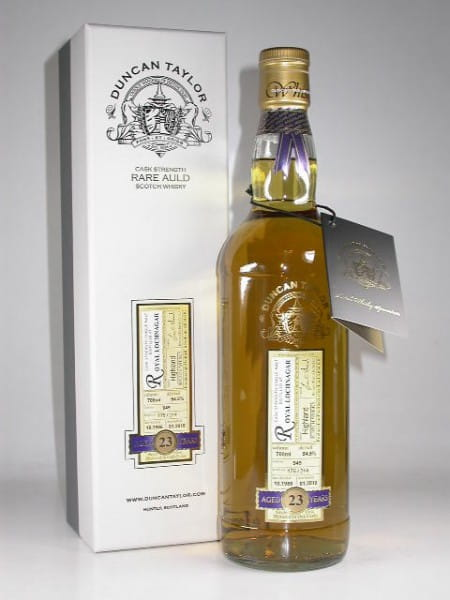 Royal Lochnagar 23 Jahre 1986/2010 Rare Auld Duncan Taylor 54,5%vol. 0,7l