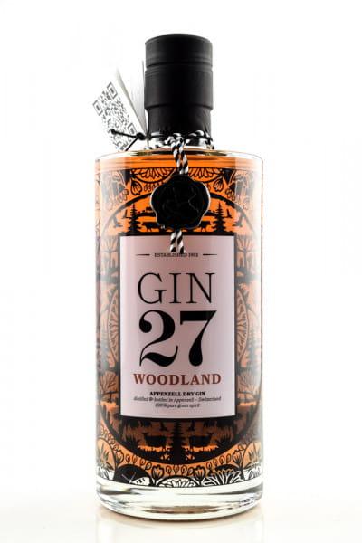 GIN 27 Woodland 43%vol. 0,7l