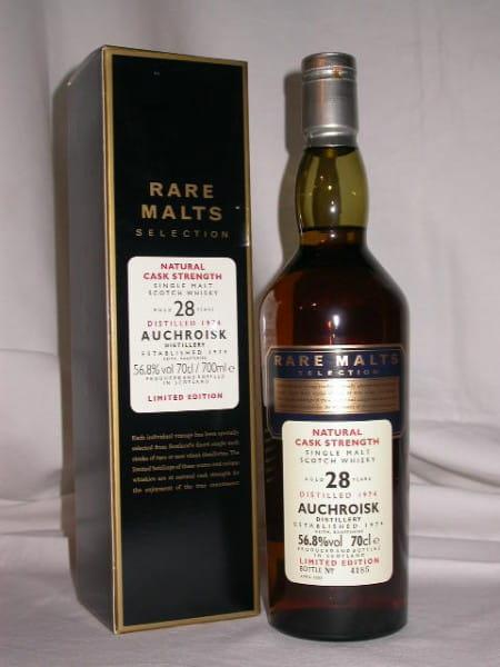 Auchroisk 28 Jahre 1974/2003 Rare Malts 56,8%vol. 0,7l