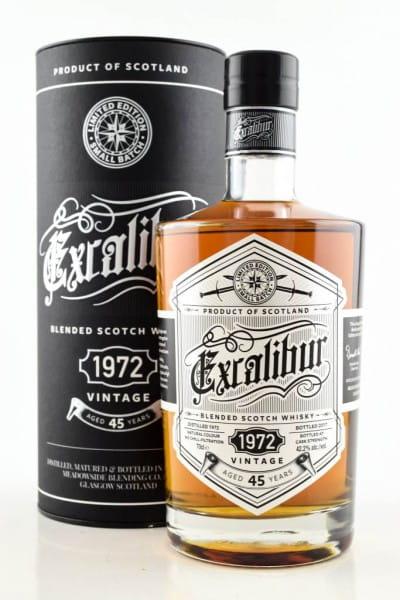 Excalibur 45 Jahre Vintage 1972 42,2%vol. 0,7l