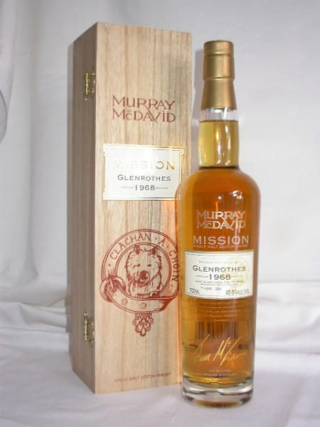 Glenrothes 1968/2006 Murray McDavid Mission C.S. 45,5%vol. 0,7l