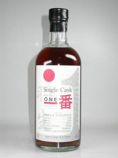 Hanyu 1990/2009 Single Cask No. 9305 53,4%vol. 0,7l