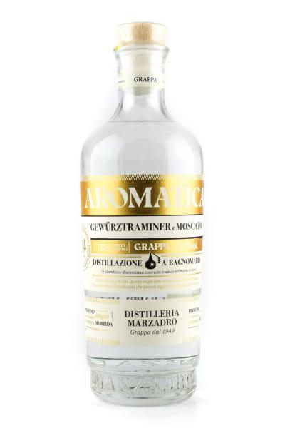 Marzadro Grappa Bivitigno Aromatica 41%vol. 0,7l