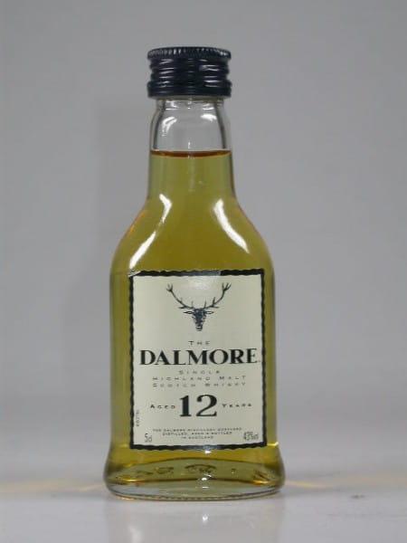 Dalmore 12 Jahre 43%vol. 0,05l
