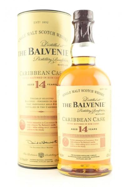 Balvenie 14 Jahre Caribbean Cask 43%vol. 0,7l