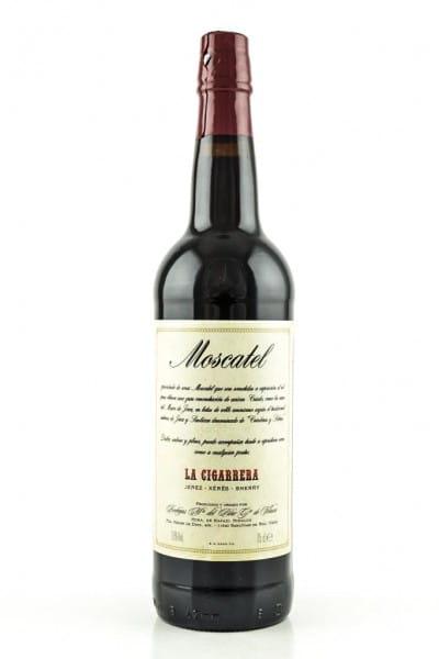 La Cigarrera Moscatel Sherry 18%vol. 0,75l