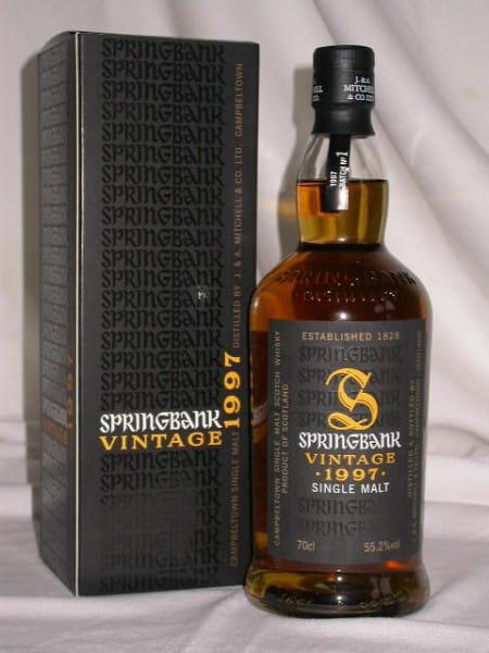 Springbank Vintage 1997 Batch No. 1 Sherry 55,2%vol. 0,7l