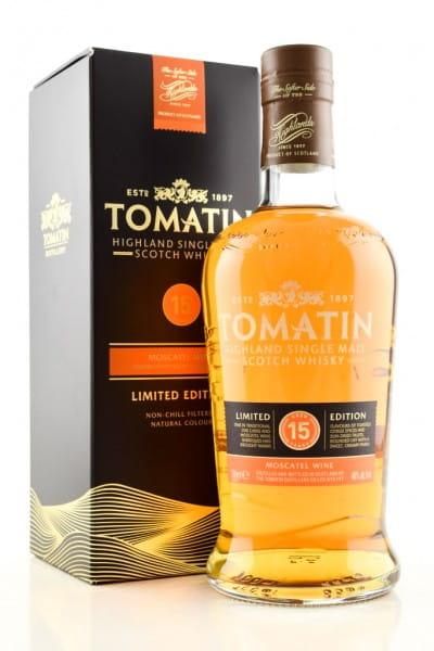 Tomatin 15 Jahre Moscatel Wine Finish 46%vol. 0,7l