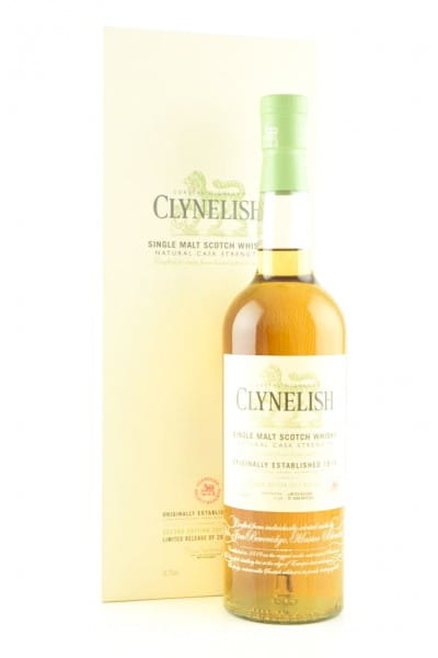 Clynelish Natural Cask Strength Special Release 2015 56,1%vol. 0,7l