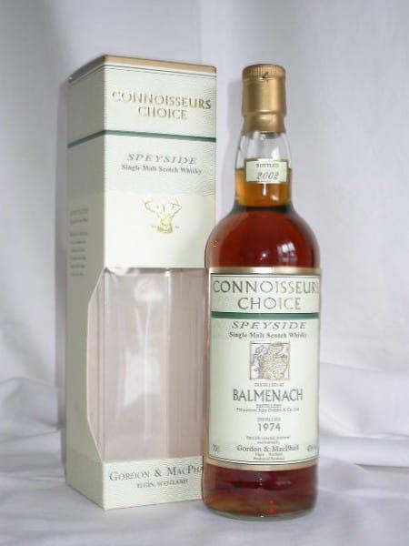 Balmenach 1974/2002 Gordon & MacPhail Connoisseurs Ch. 40%vol. 0,7l
