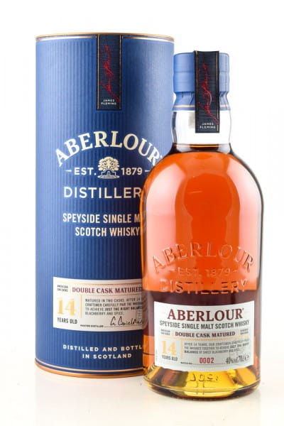 Aberlour 14 Jahre Double Cask Matured 40%vol. 0,7l