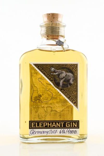 Elephant Aged Gin 52%vol. 0,5l